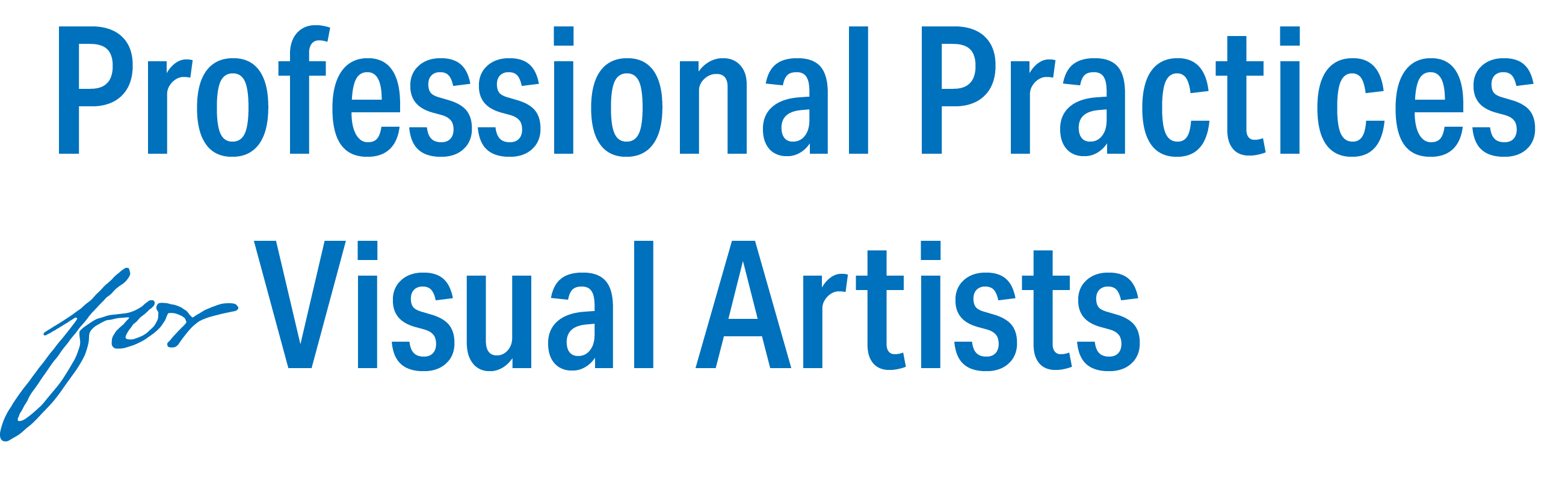 Professional Practices for Visual Artists